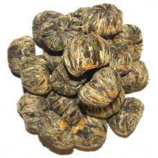 Связанный чай Рождение Букета (Корзина с цветком) Art tea