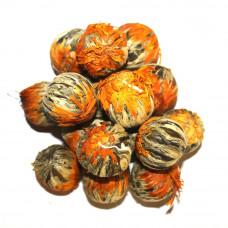 Связанный чай Золотая хризантема (Манго) Art tea