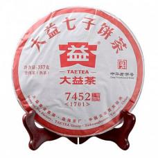 Чай Пуэр блин (357гр) Менхай рецепт 7452 2017 год