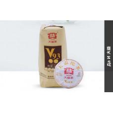 Чай черный пуэр шу Мэнхай ДаИ  V93 то ча 100 грамм
