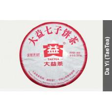 Чай Пуэр блин (357гр) Менхай ДАИ Ба Цзи Пу Бин (Восьмерка) 2016 год